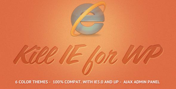 WordPress više ne podržava IE6